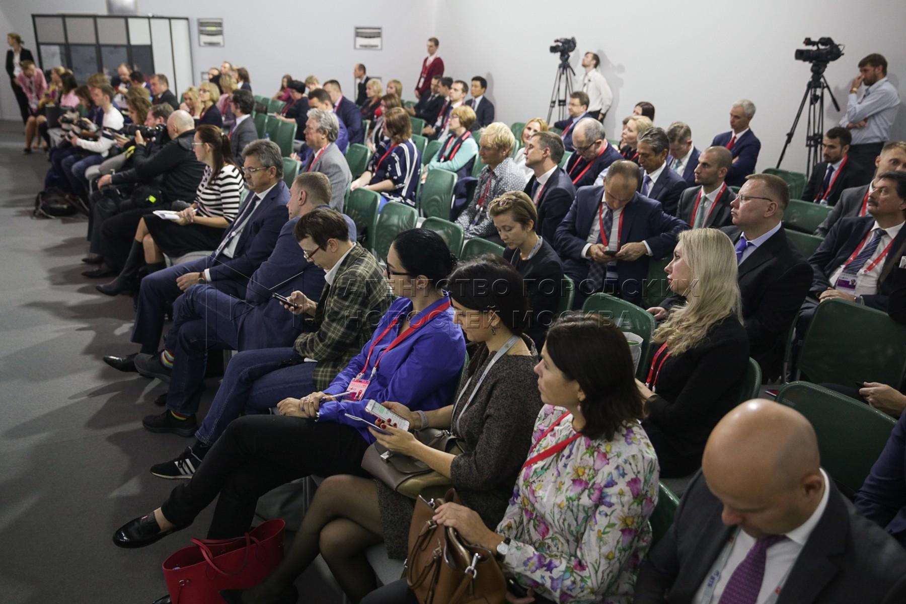 Первый Московский финансовый форум 2016 в ЦВЗ «Манеж»