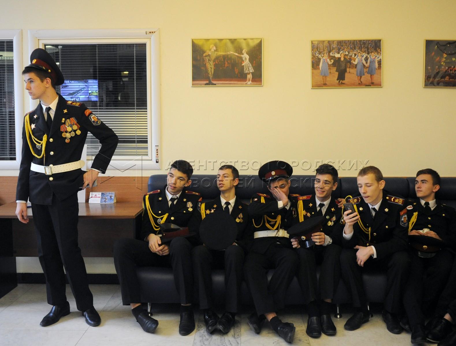 Московский слет всероссийского молодежного движения «Юнармия»