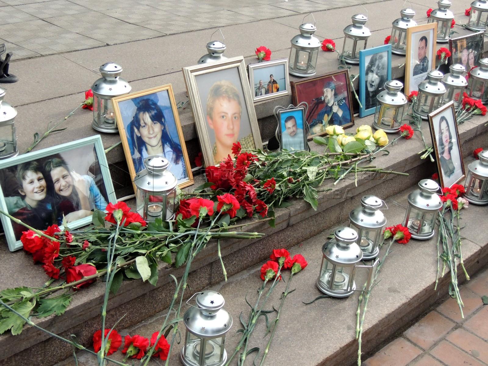 Памятные мероприятия, посвященные жертвам теракта в Театральном центре на Дубровке в 2002 г. во время мюзикла «Норд-Ост»