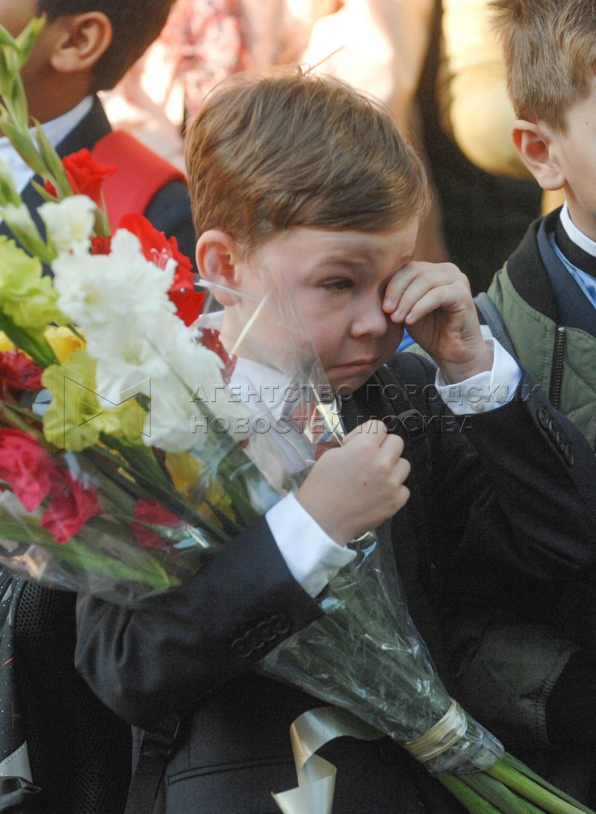Автор: Киселев Сергей. День знаний в школах Москвы
