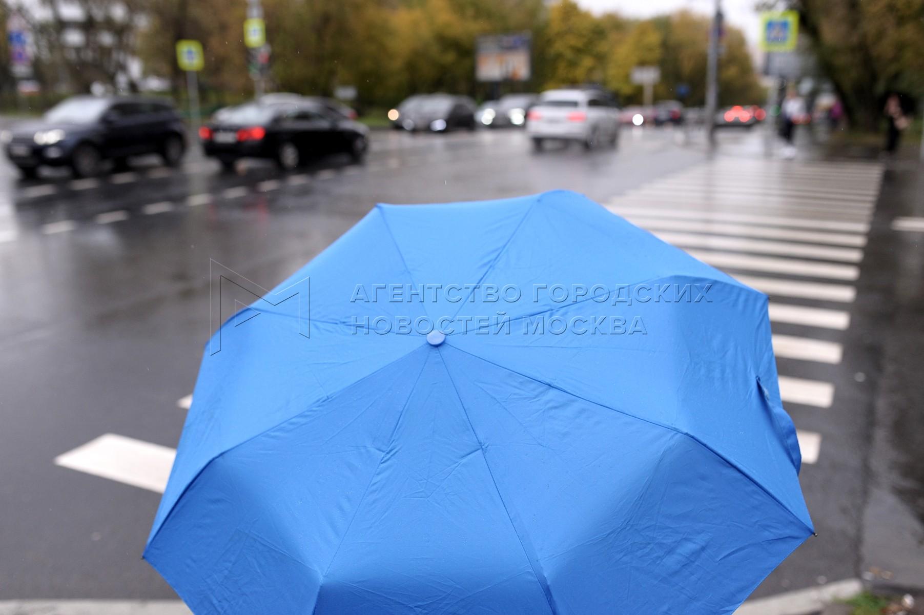 Автор: Авилов Александр. Дождь в Москве 13 октября