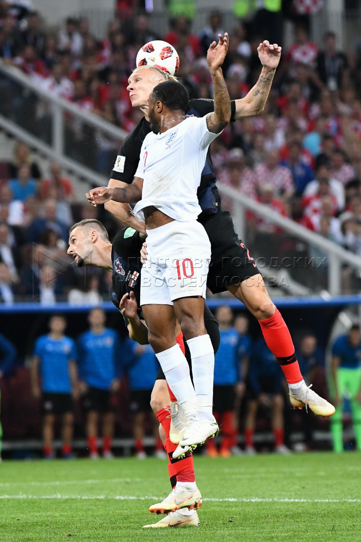 Матч ЧМ-2018 между сборными Хорватии и Англии на стадионе «Лужники». Автор фото: Андрей Никеричев.