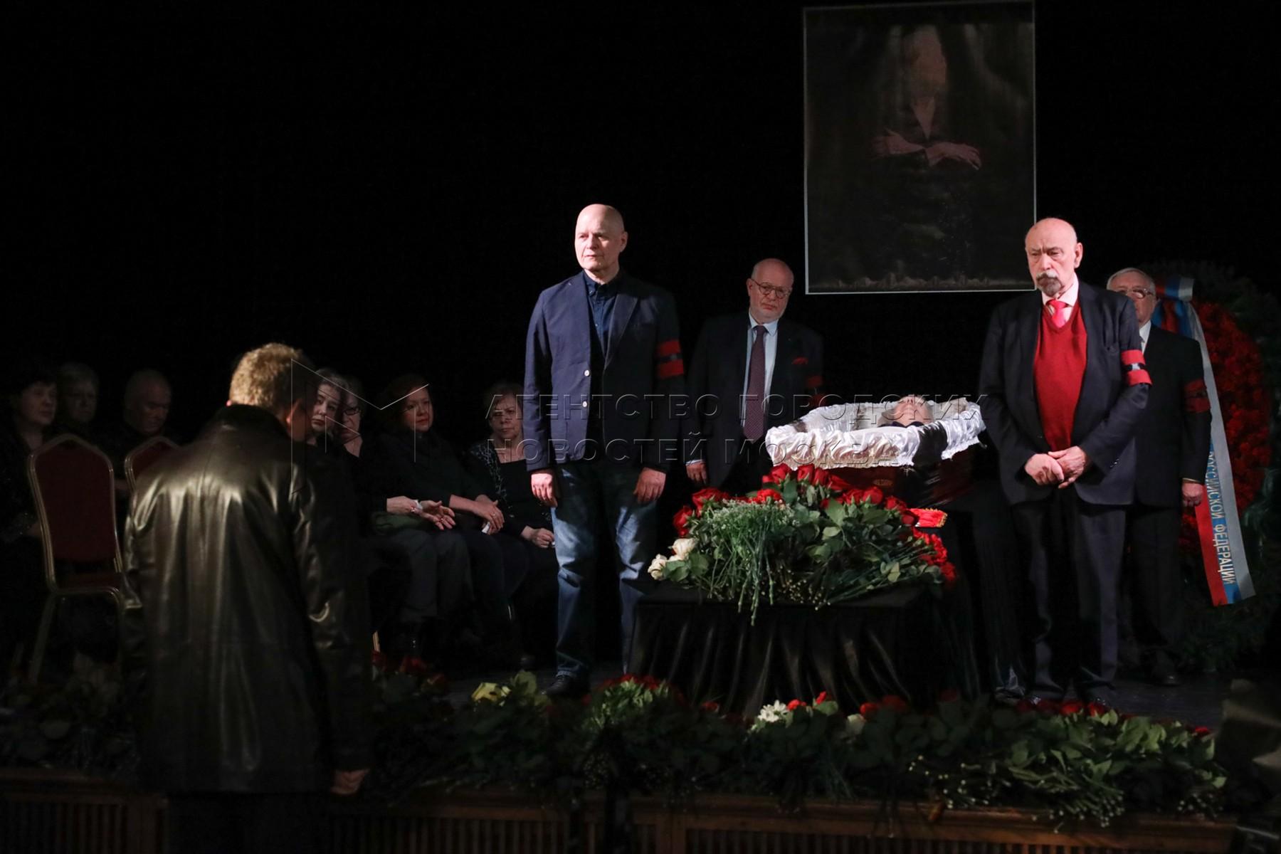 Церемония прощания с правозащитницей Людмилой Алексеевой в Центральном доме журналиста. Автор фото: Никеричев Андрей.