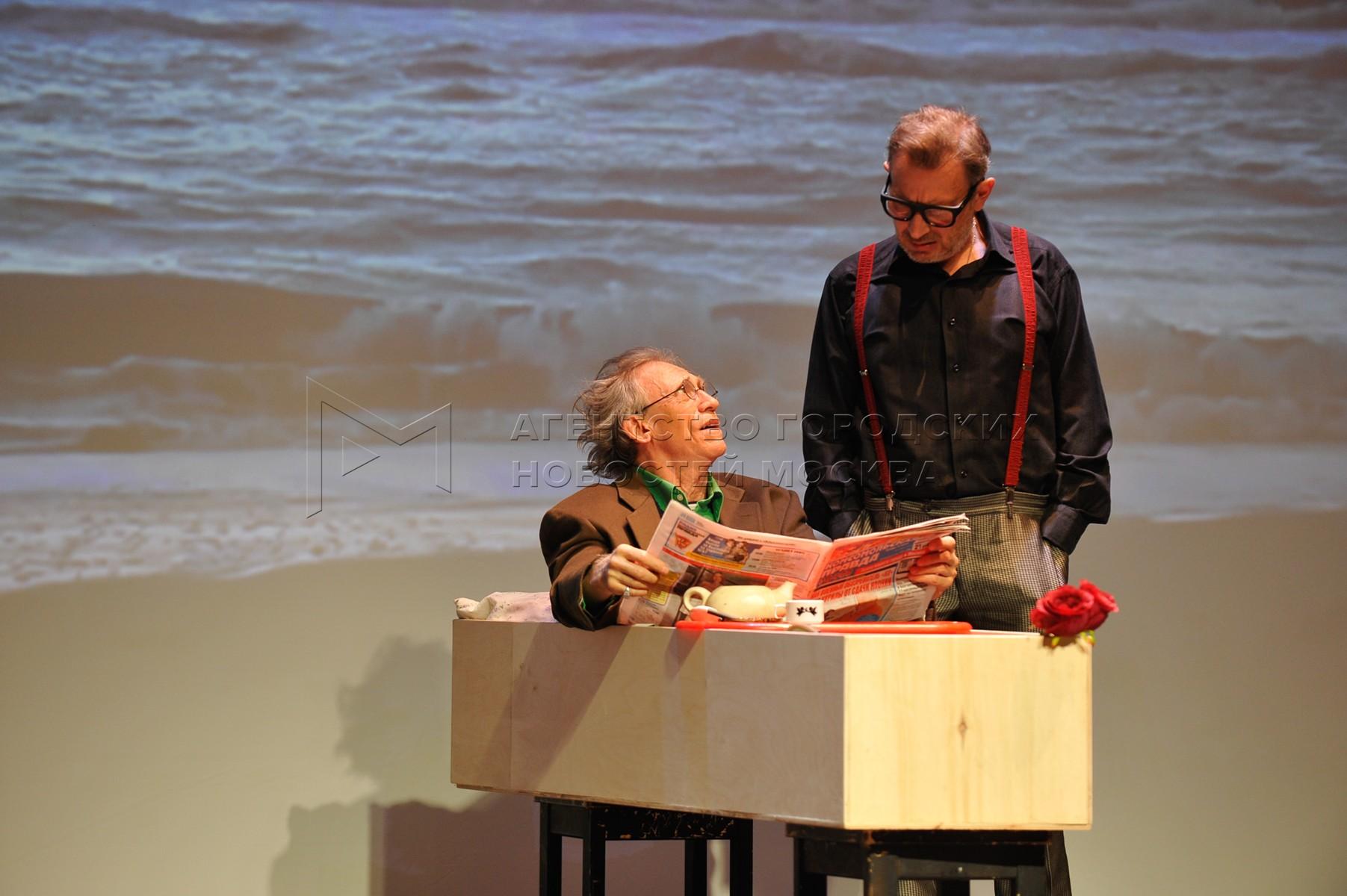 Празднование Пурима в театре «Школа современной пьесы».