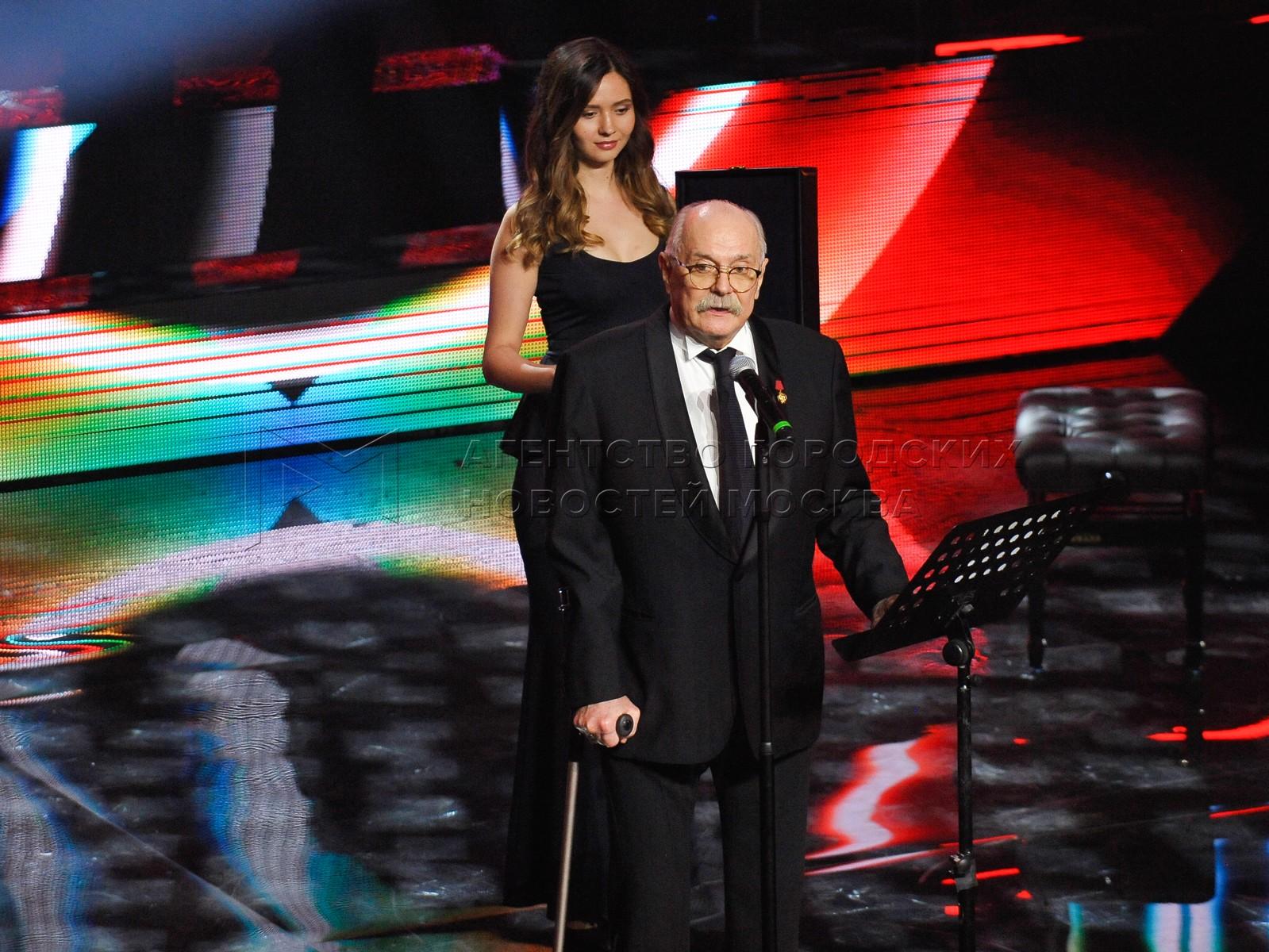Президент ММКФ, председатель Союза кинематографистов России, режиссер Никита Михалков на церемонии закрытия 41-го Московского международного кинофестиваля.