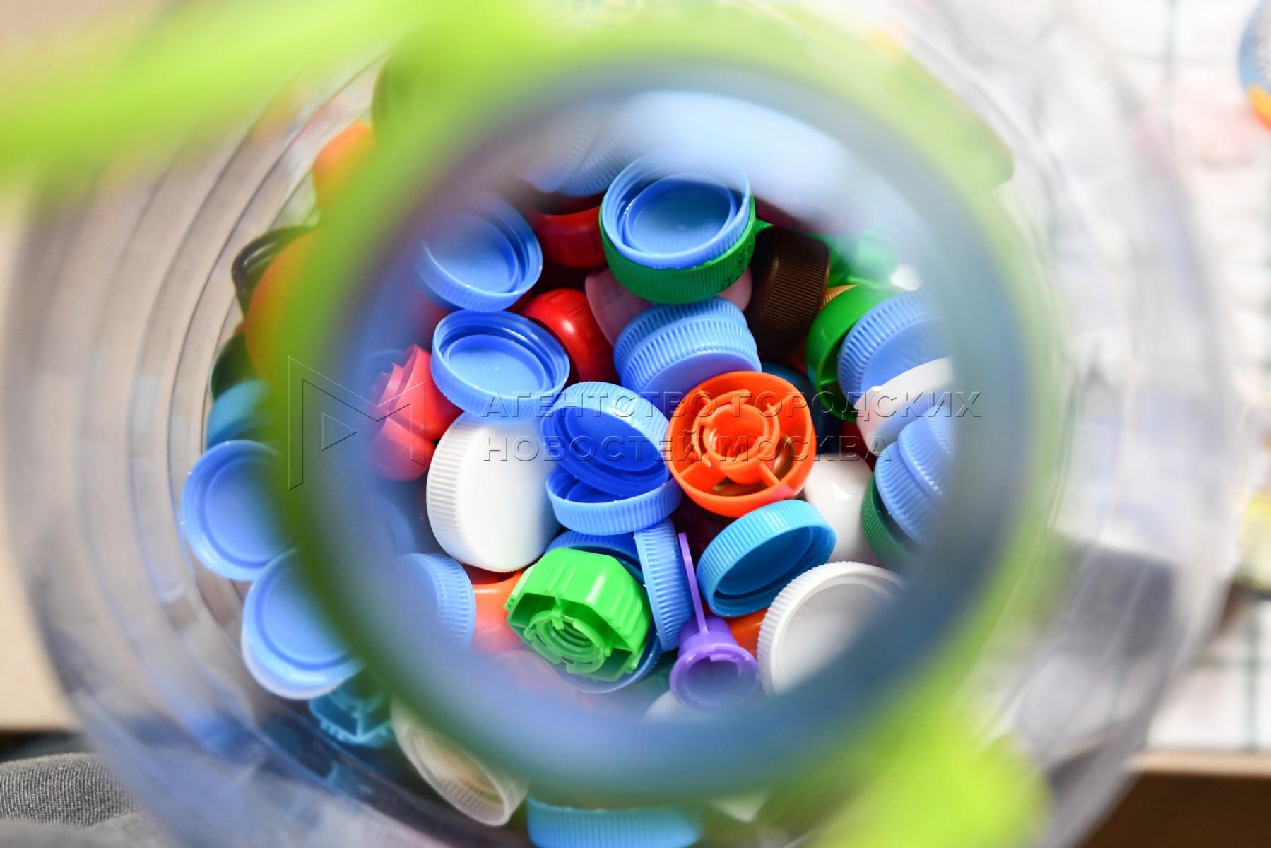 Раздельный сбор и сортировка мусора москвичами.