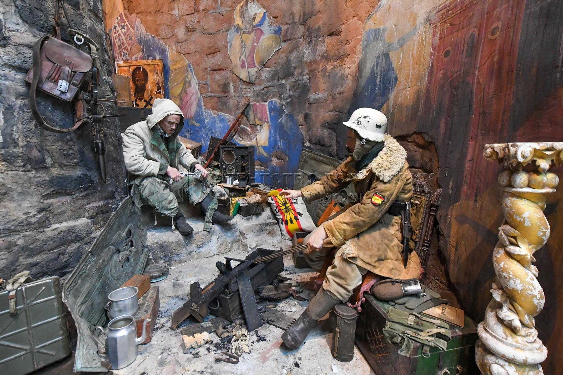 Новая экспозиция «Подвиг народа» в Музее Победы на Поклонной горе.