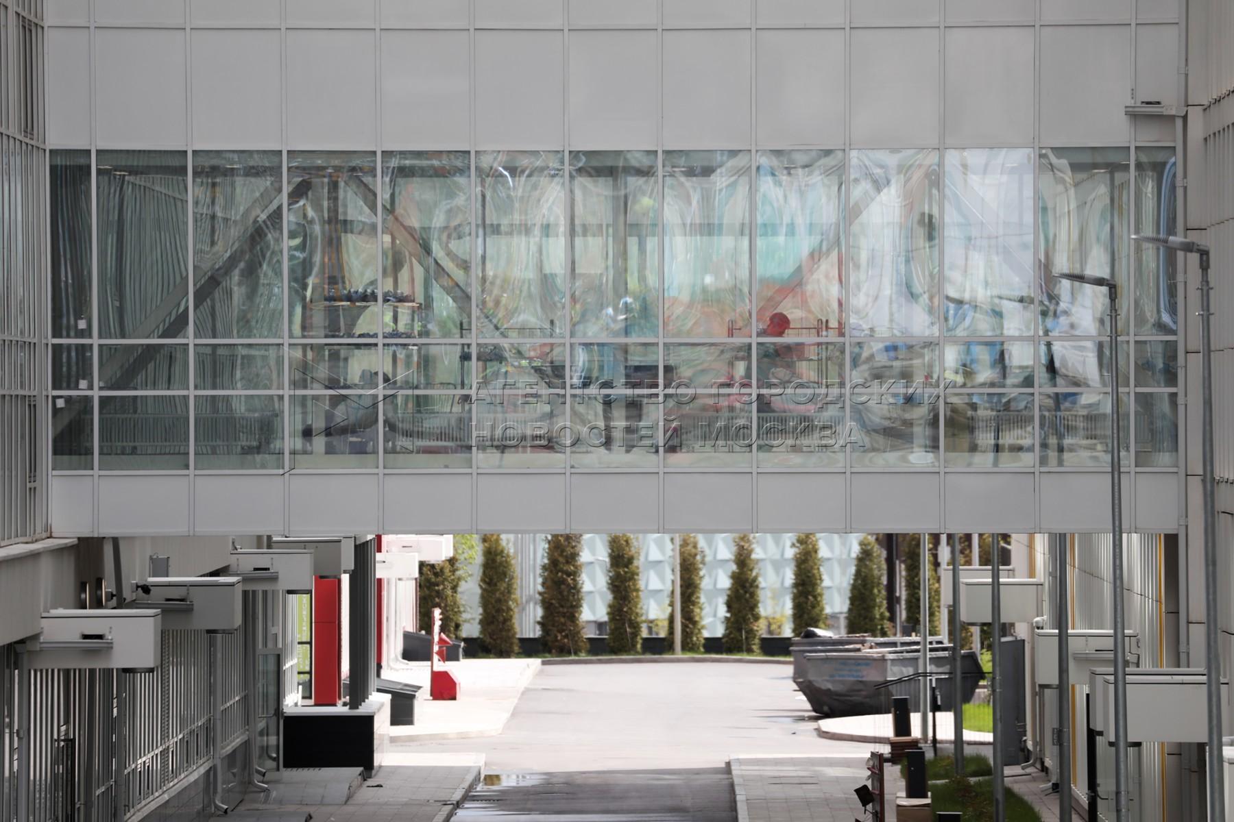 Карантинный центр в многопрофильном медицинском центре «Новомосковский».