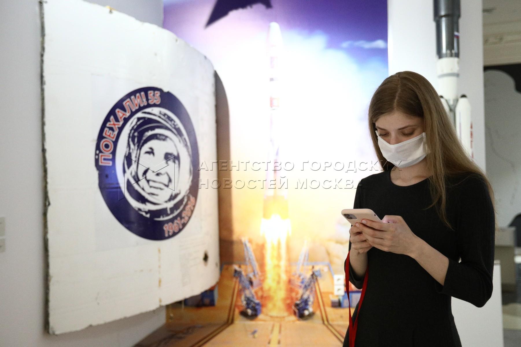 Залы XXI века с актуализированной экспозицией в Музее современной истории России.