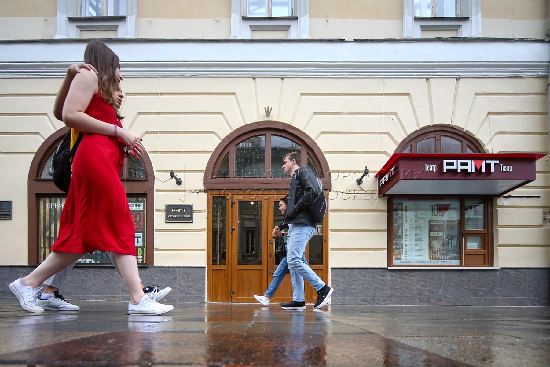 Российский академический молодежный театр перед открытием 100-ого юбилейного сезона.