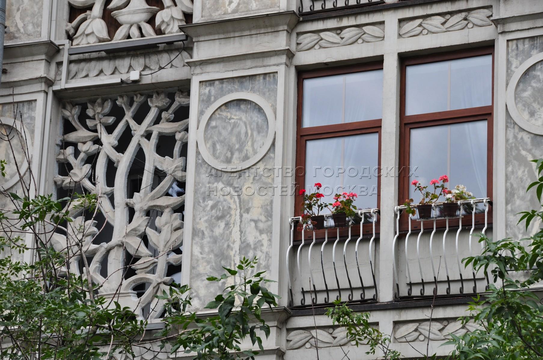 «Ажурный дом» на Ленинградском проспекте.