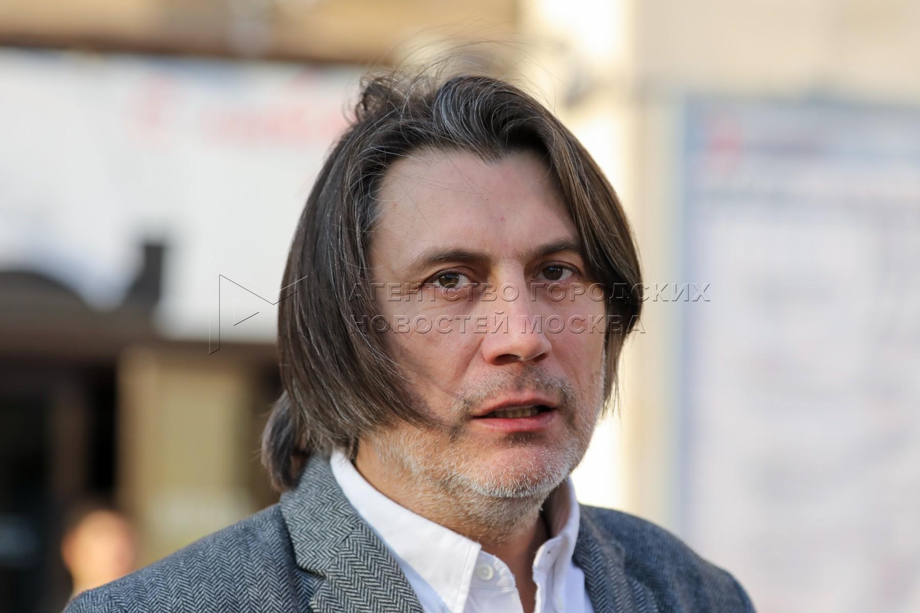 Главный режиссер Государственного академического центрального театра кукол имени Сергея Образцова Борис Константинов во время открытия нового сезона.