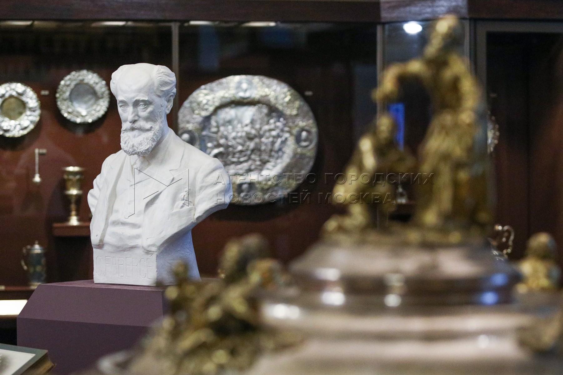 Пресс-конференция на тему передачи Музеям Московского Кремля архива семьи мастеров ювелирного искусства Фаберже.