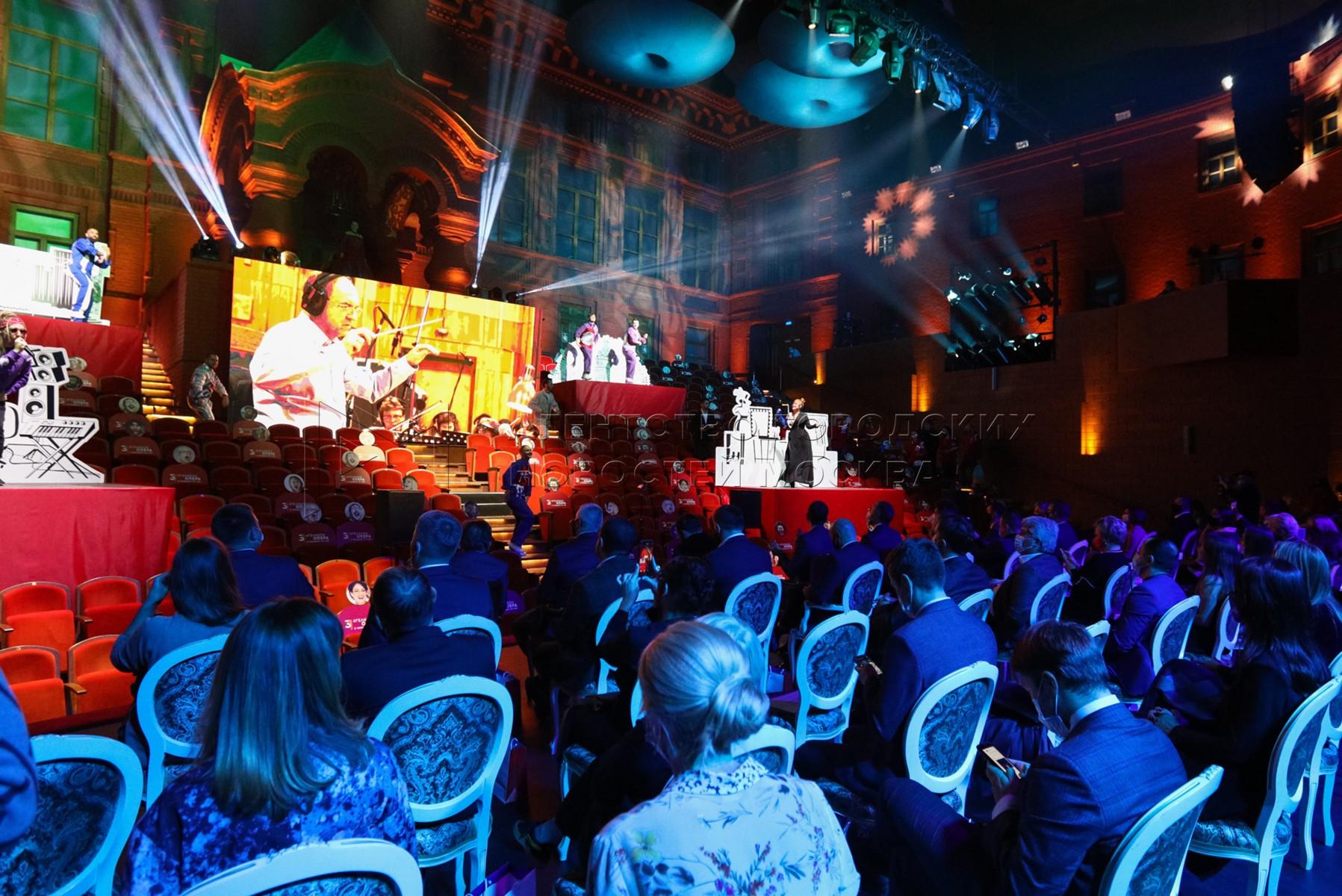 Церемония открытия Национального открытого чемпионата творческих компетенций ArtMasters в театре «Геликон-опера».
