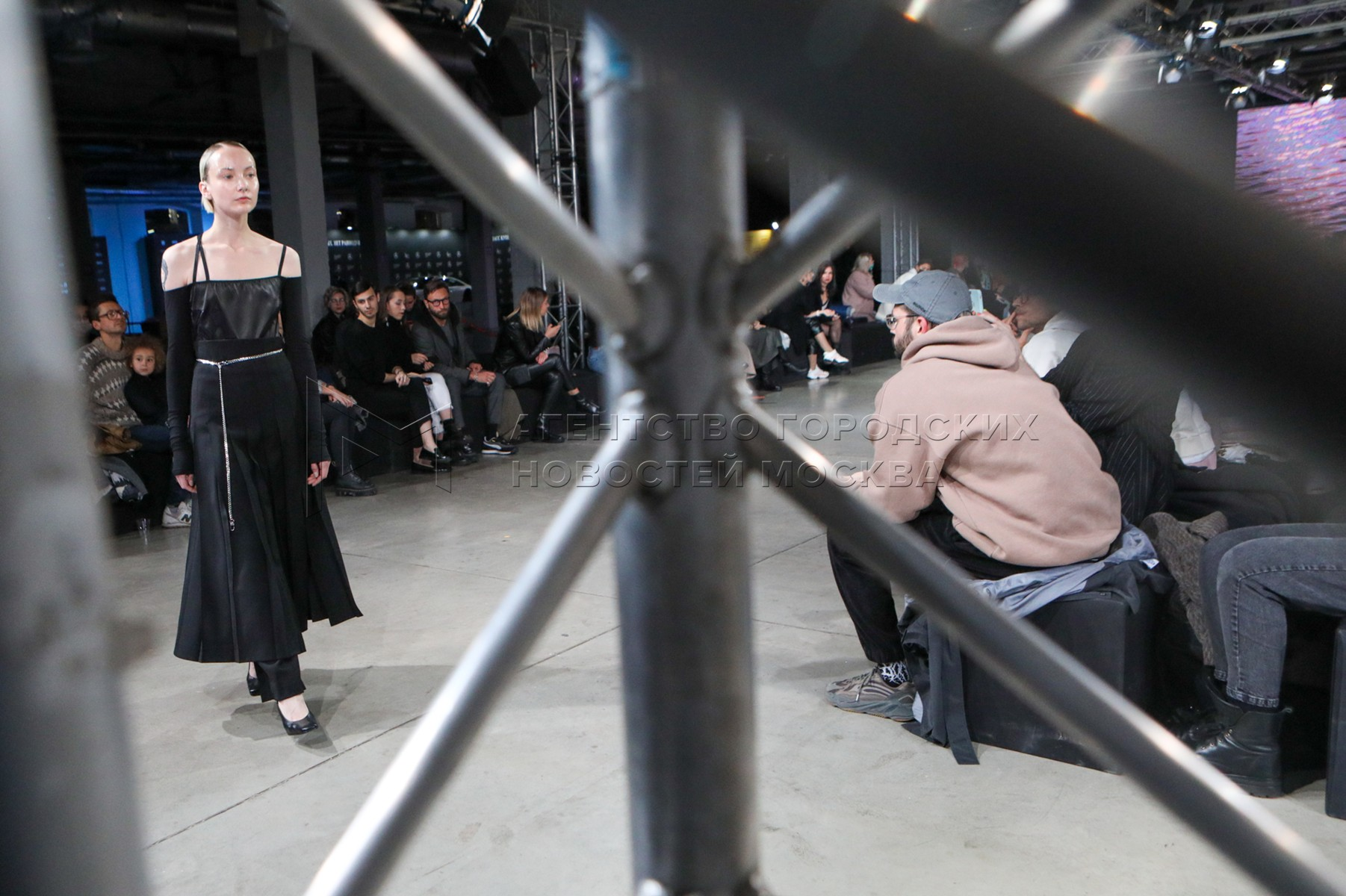 Показ дизайнера Otocyon на неделе моды Mercedes-Benz Fashion Week Russia 2020.