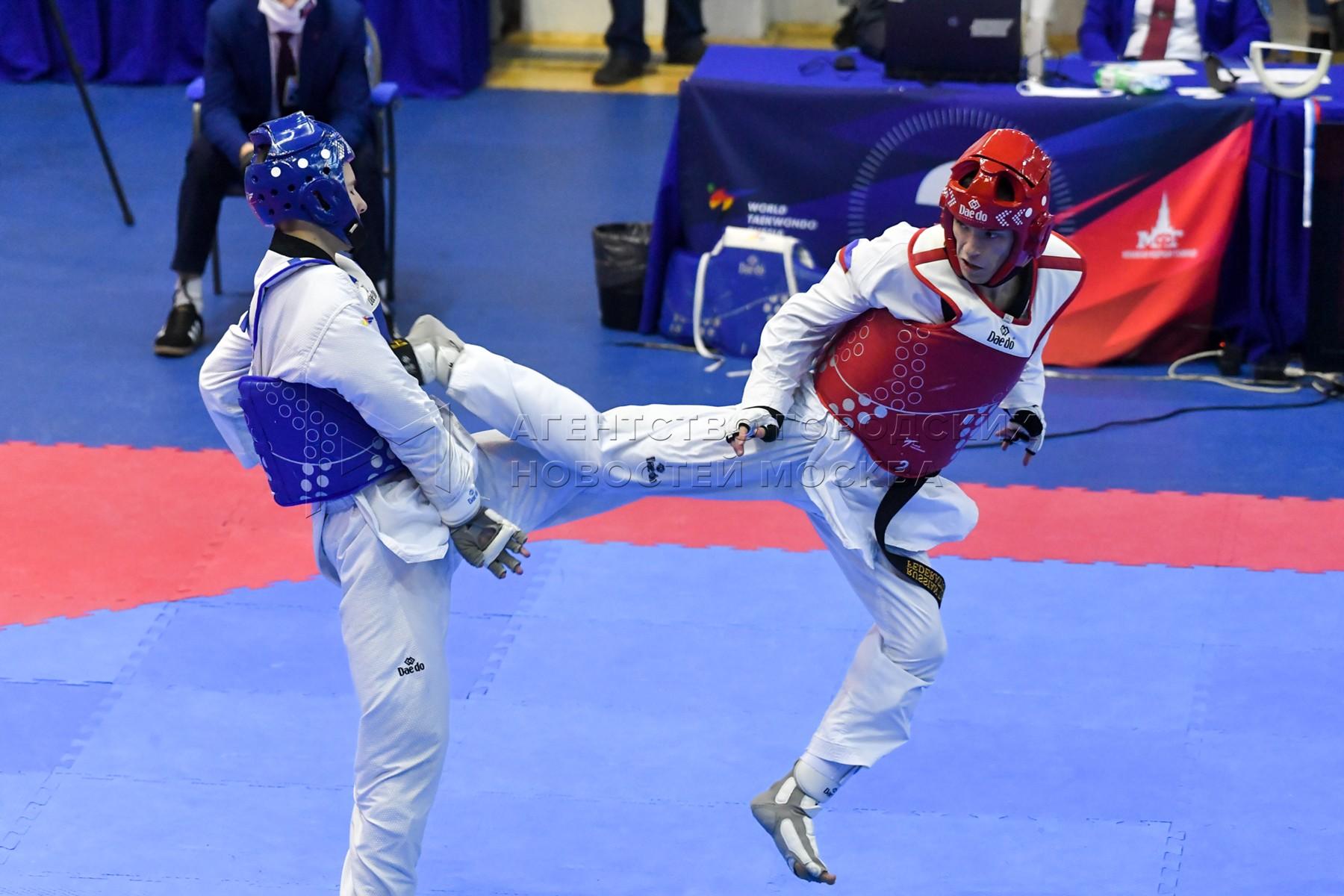 Чемпионат России по тхэквондо в Московском центре боевых искусств.