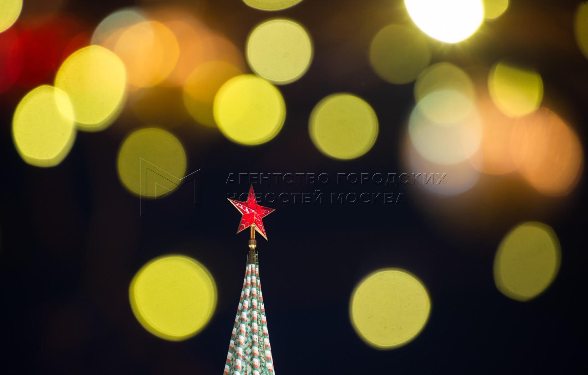 Новогоднее оформление Москвы.