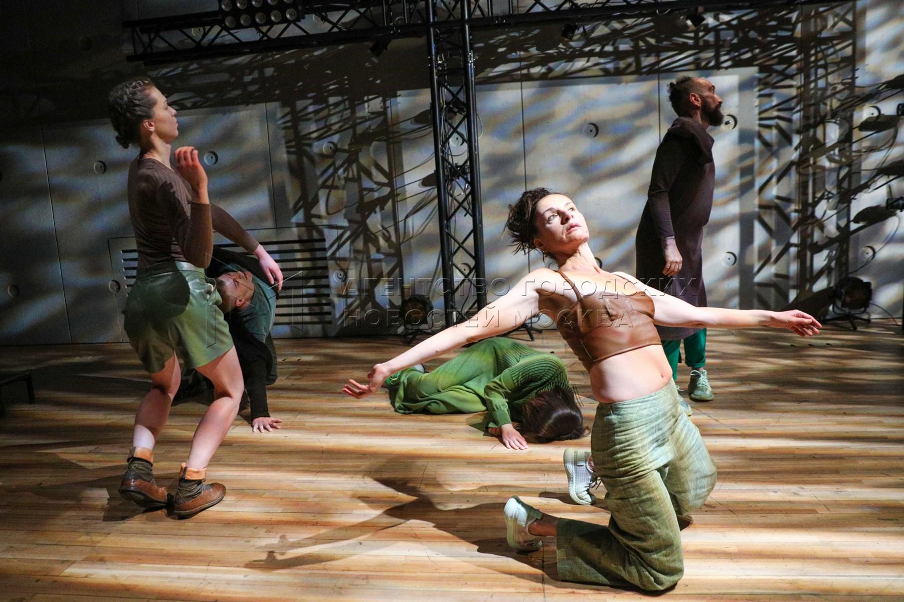 Показ премьерного спектакля «Диксония» на Малой сцене электротеатра «Станиславский».