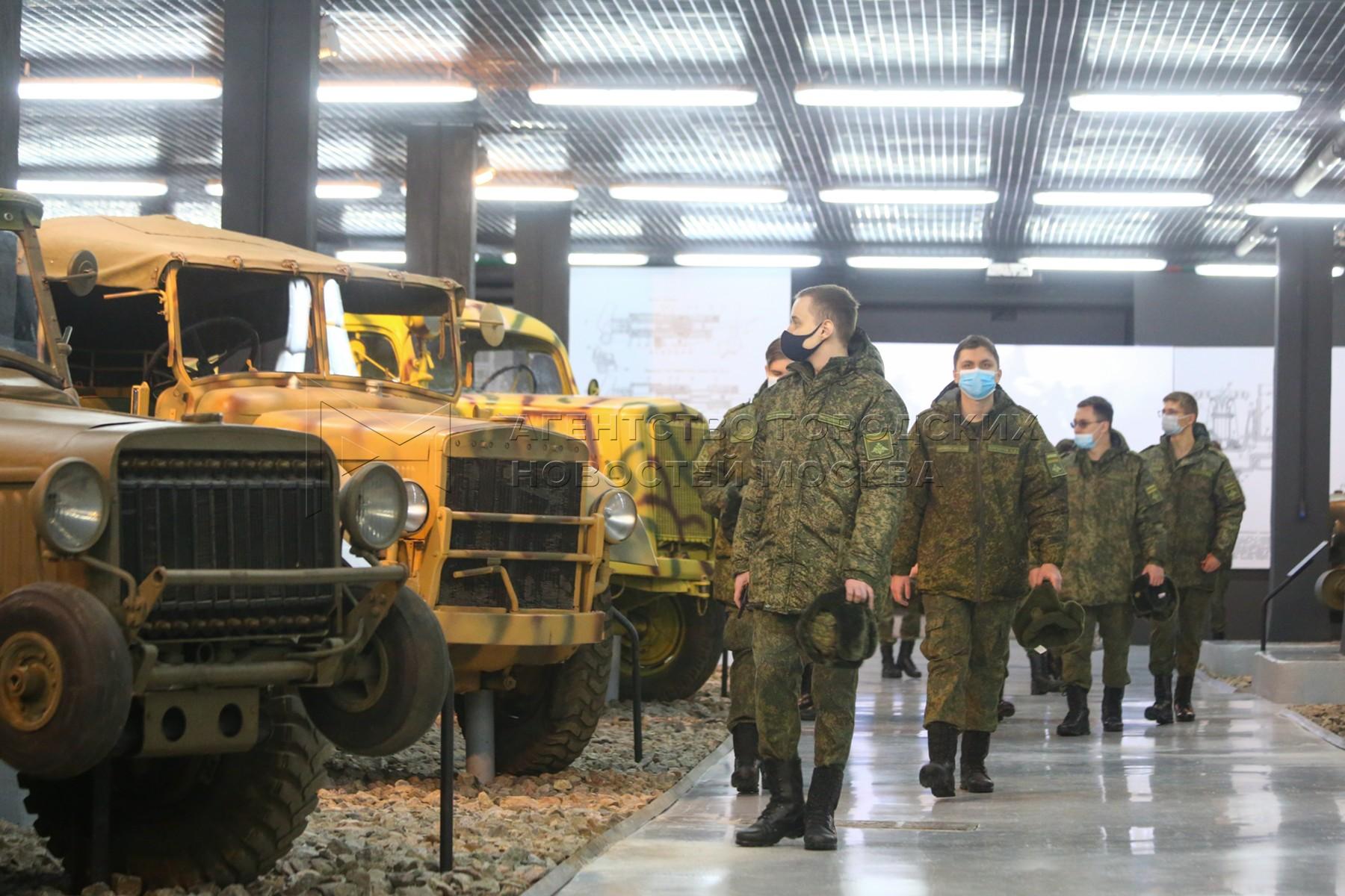 Выставка «Моторы войны» в Музее Победы на Поклонной горе.