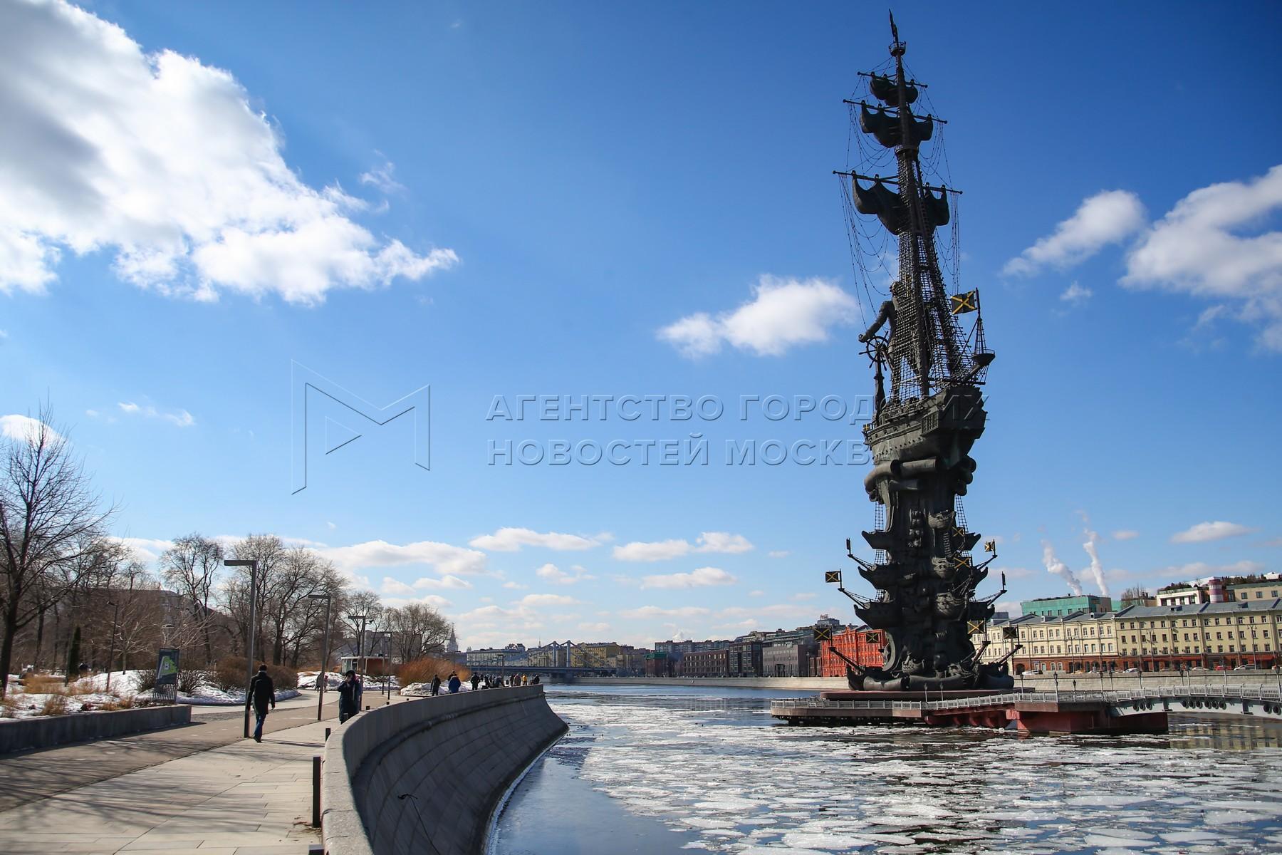 Солнечная погода в Москве 20 марта.