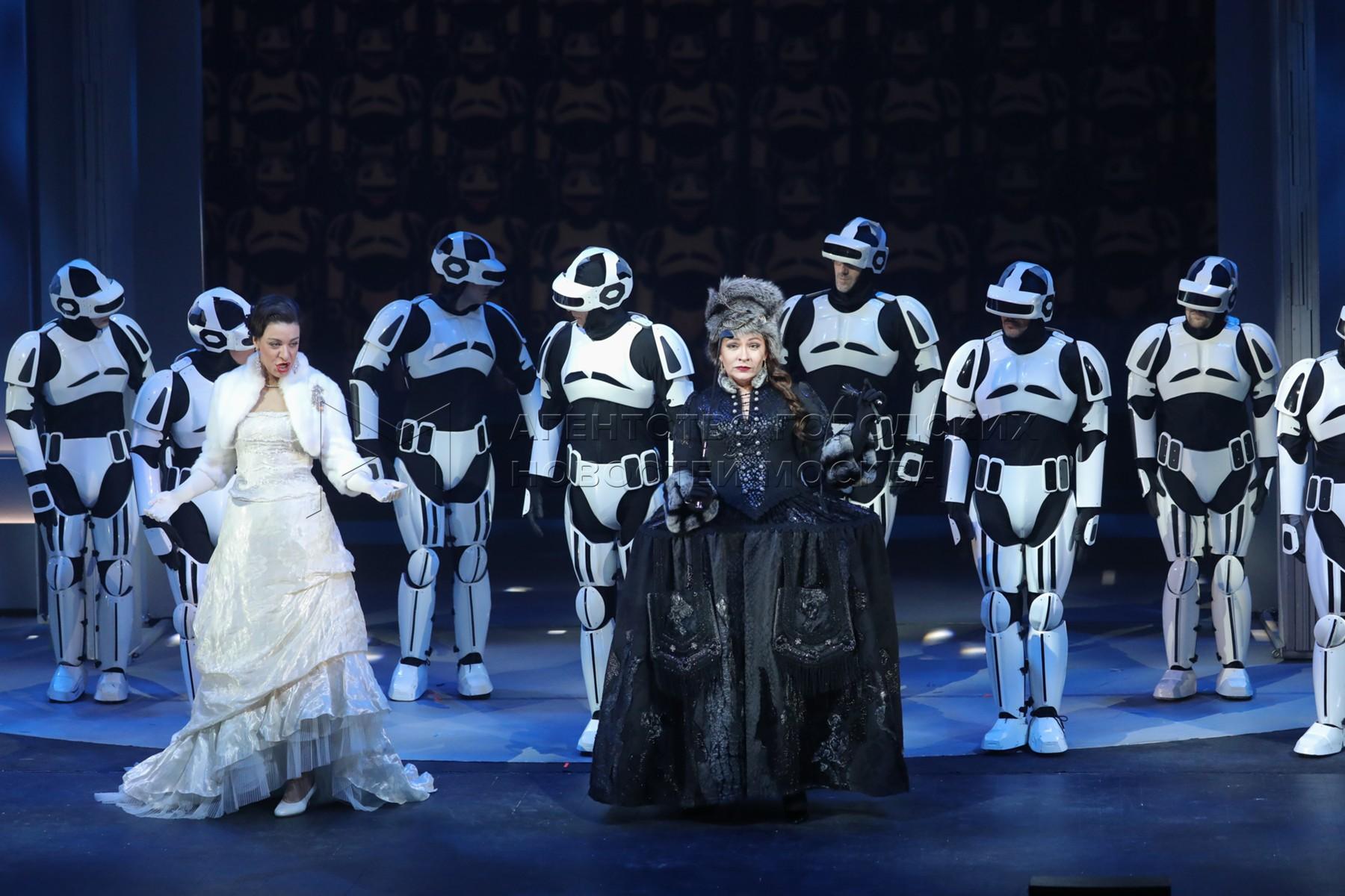 Праздничный вечер, посвященный дню рождения Московского музыкального театра «Геликон-опера».