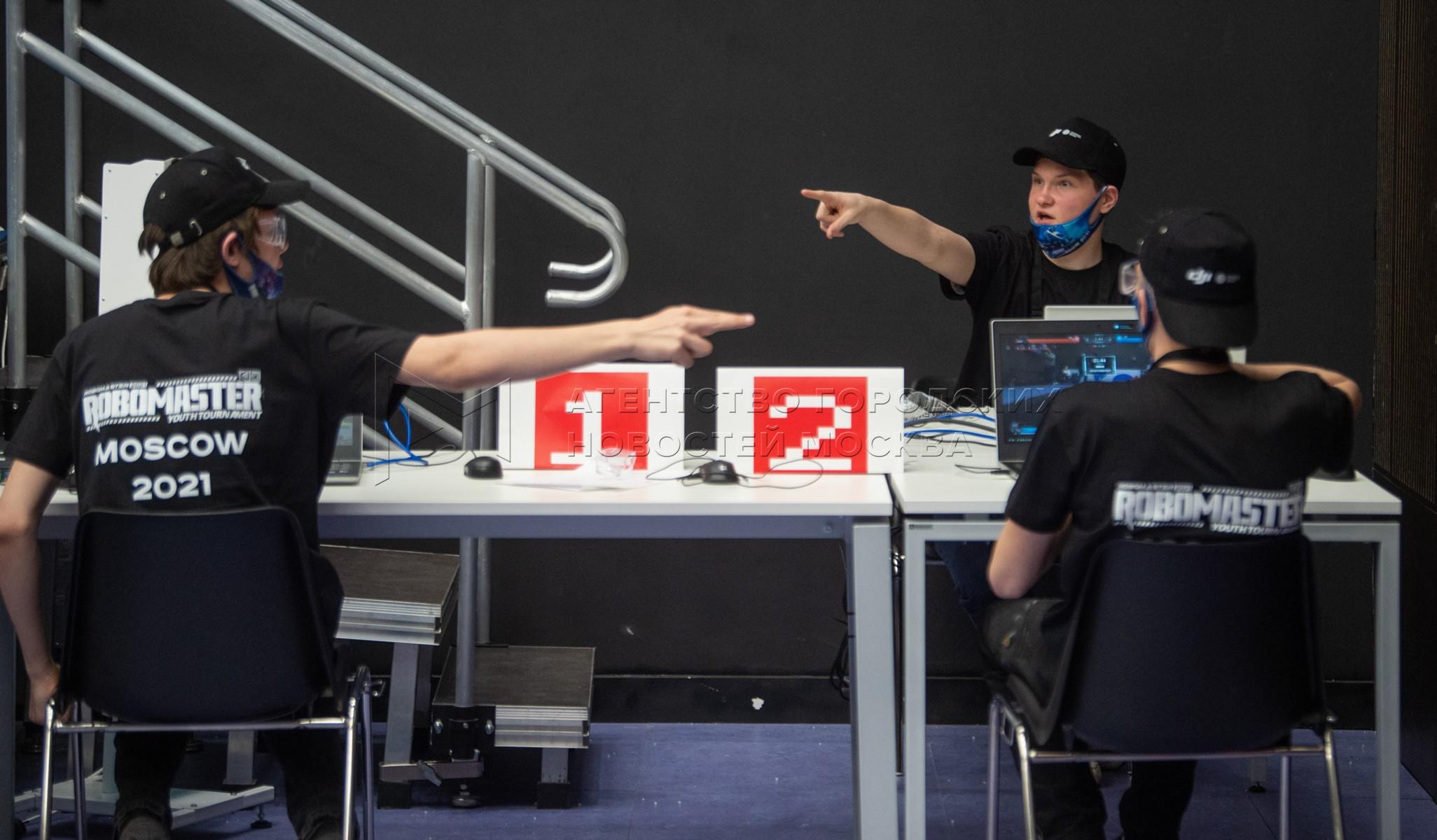 Региональный чемпионат международного конкурса по авиаробототехнике и машинному зрению DJI RoboMaster Youth в инновационно-образовательном комплексе «Техноград» на ВДНХ.