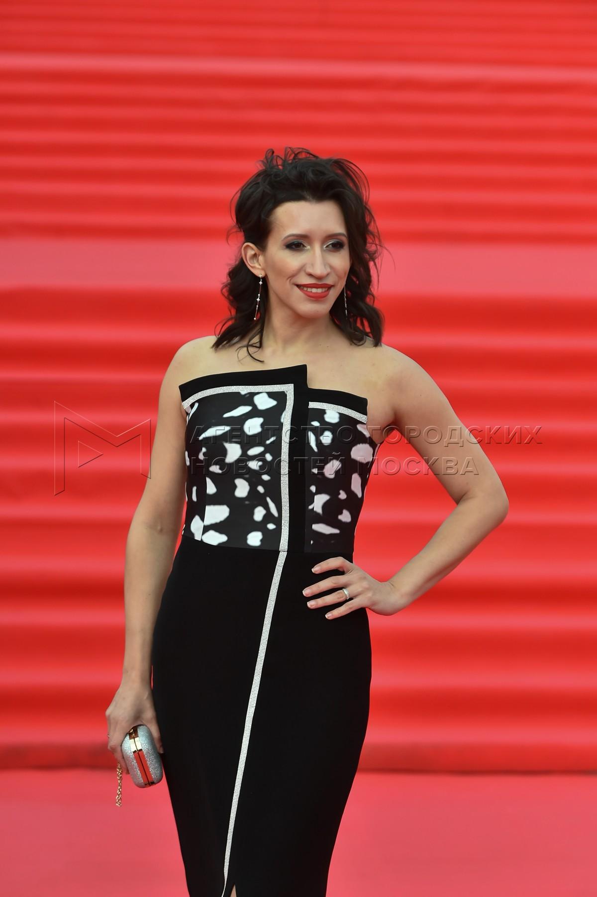Актриса Елена Борщева на церемонии закрытия 43-го Московского международного кинофестиваля (ММКФ).